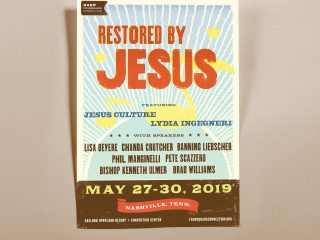 Restored by Jesus